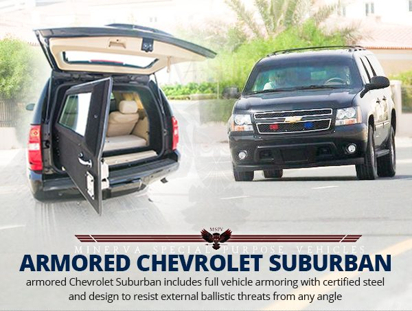 Armored-Bulletproof-Chevrolet-Suburban